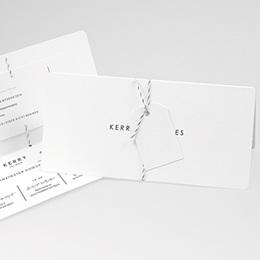 Karten Hochzeit Simply White