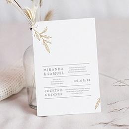 Karten Hochzeit Minimalist Botanik
