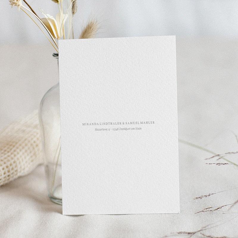 Einladungskarten Hochzeit  Minimalist Botanik pas cher