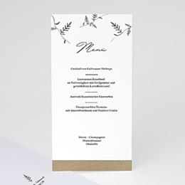Menükarten Hochzeit Herbal Love