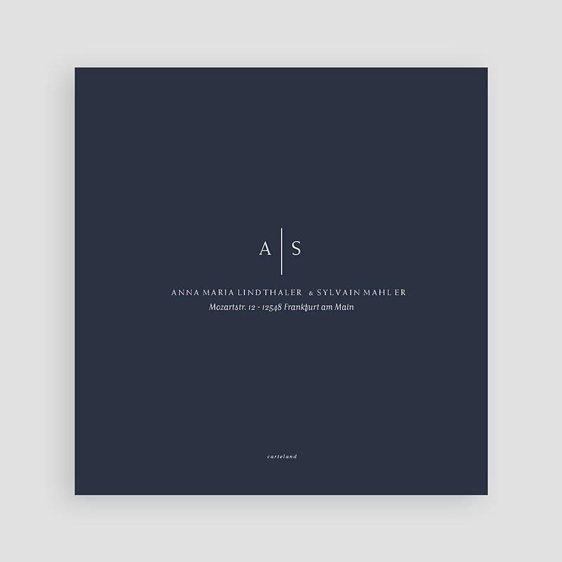 Kreative Hochzeitskarten - Moderner Minimalismus 64223 thumb