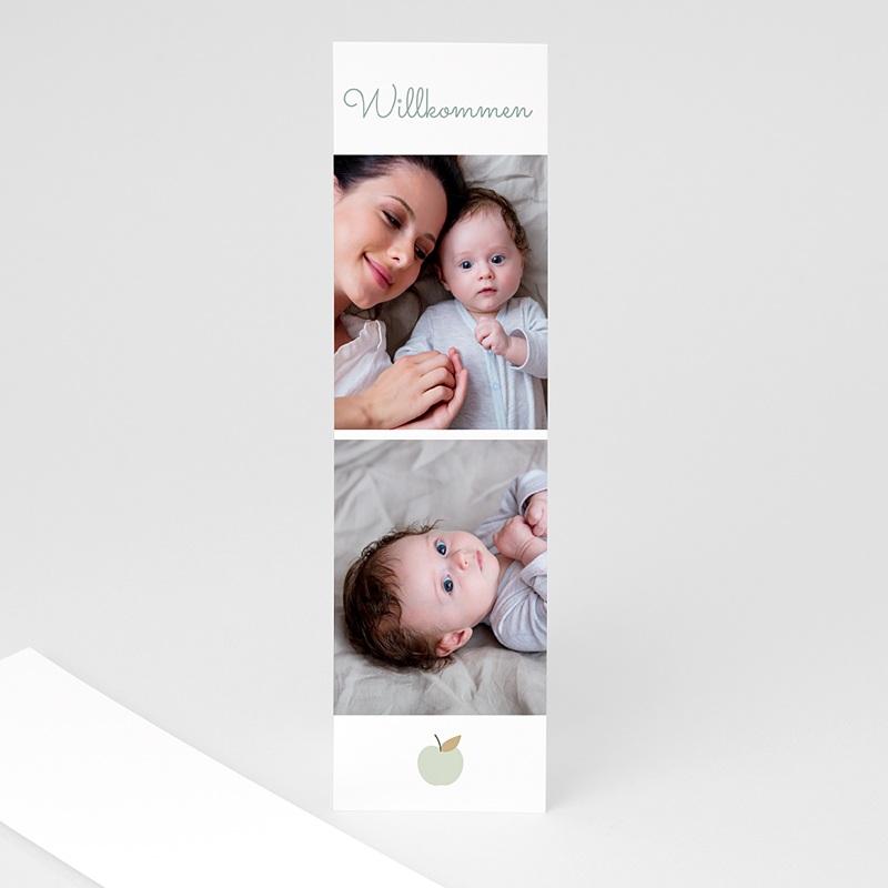 Geburtskarten für Jungen Mintgrün