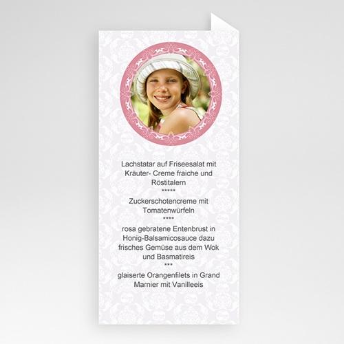 Menükarten Kommunion - Rosa 6442 preview