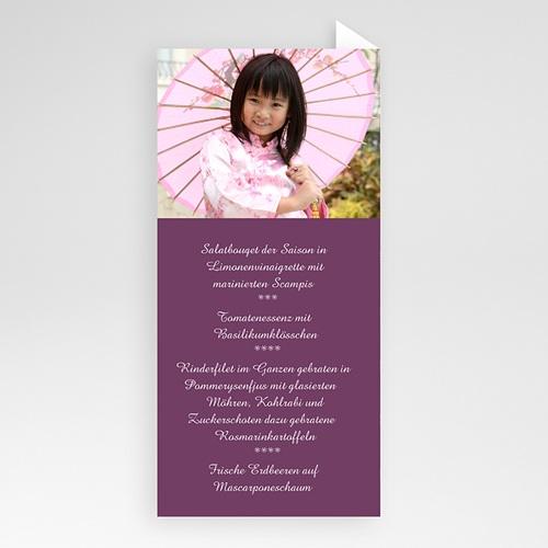 Menükarten Kommunion - Asiatisch 6470 test