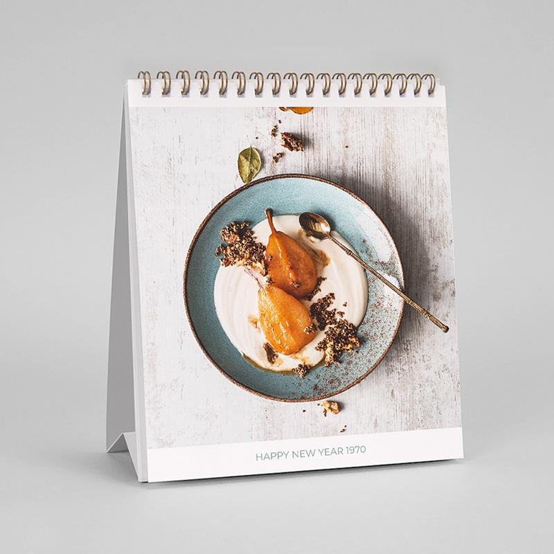 Werbekalender  Bürokalender + Logo pas cher
