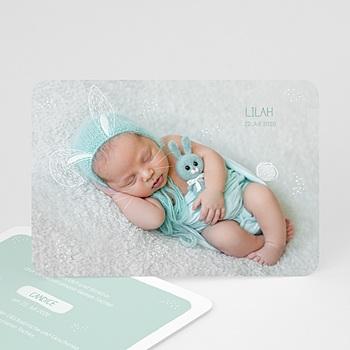 Geburtskarten für Jungen - Kleiner Hase - 0