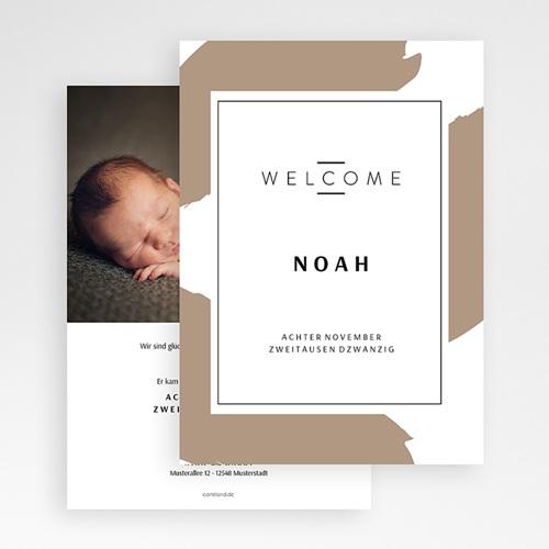 Geburtskarten für Jungen Wild Touch gratuit