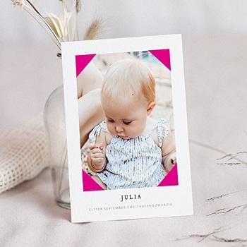 Geburtskarten für Mädchen - Pretty Pink - 0