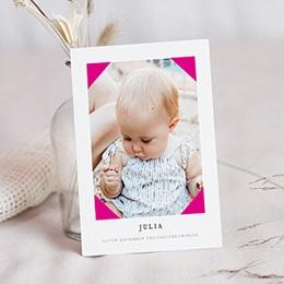 Karten Geburt Pretty Pink