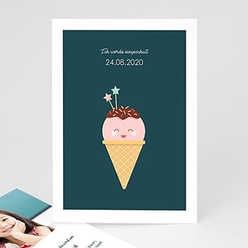 Einladungskarten Einschulung - Ice Cream - 0