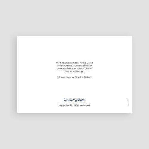 Geburtskarten für Junge Blaues Mobile pas cher