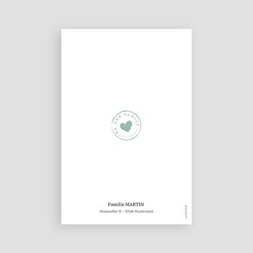 Geburtskarten für Jungen Tafel und Kreide pas cher