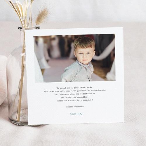 Einladungskarten Einschulung Kleiner Wolf pas cher