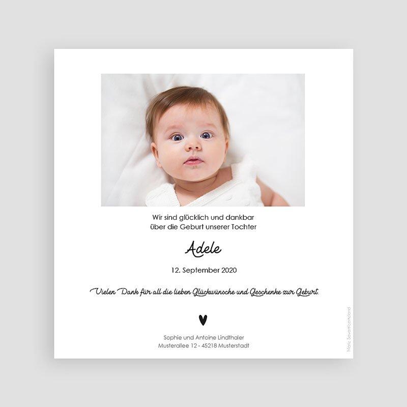 Geburtskarten für Mädchen Rosa Schwan pas cher