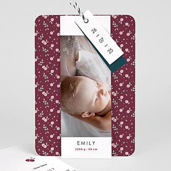 Geburtskarten für Mädchen - Liberty - 0