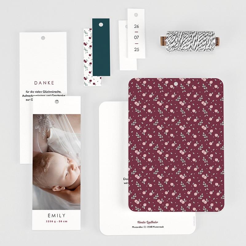 Geburtskarten für Mädchen Liberty gratuit
