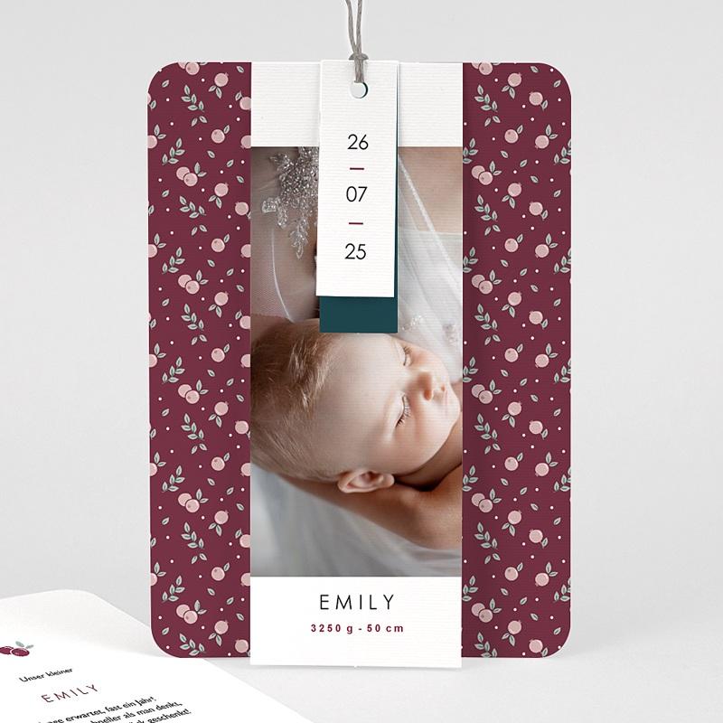 Geburtskarten für Mädchen Liberty