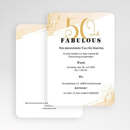 50 Jahre Alt Einladungskarten Geburtstag Fabelhafte 60 gratuit