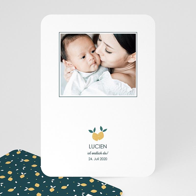 Geburtskarten für Jungen Lemon Tree