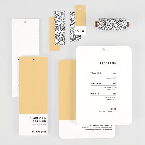 Kreative Hochzeitskarten - Yellow 65321 thumb
