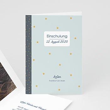 Einladungskarten Einschulung - Notizheft - 0