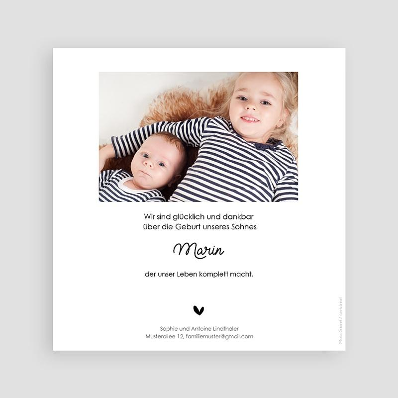 Geburtskarten für Geschwister Kleiner Bruder pas cher