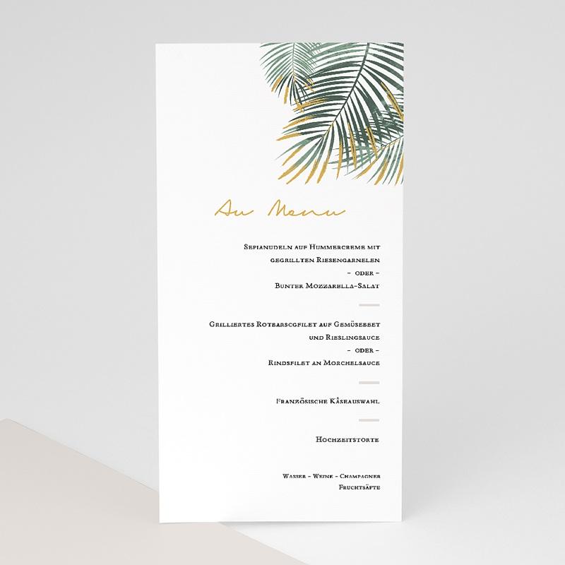 Menükarten Hochzeit Palm Springs