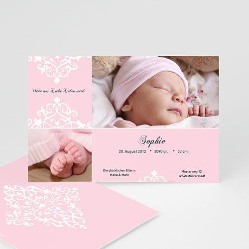 Geburtskarten für Mädchen - Petunie 6561 test