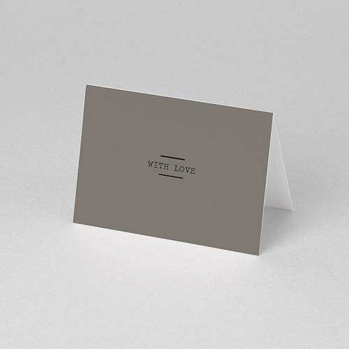Tischkarten Hochzeit Hazelnut pas cher