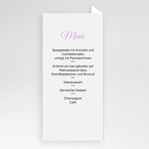 Menükarten Hochzeit  Spring pas cher