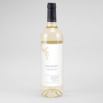 Flaschenetiketten Hochzeit - Botanic Minimalist - 0