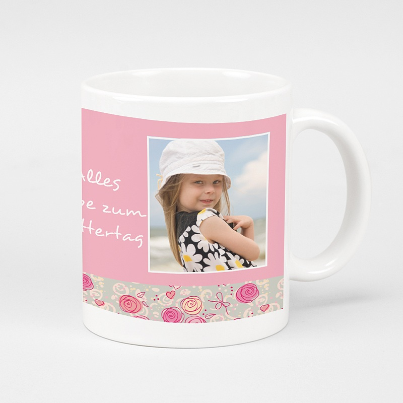 Personalisierte Fototassen Muttertag Mamas Liebling