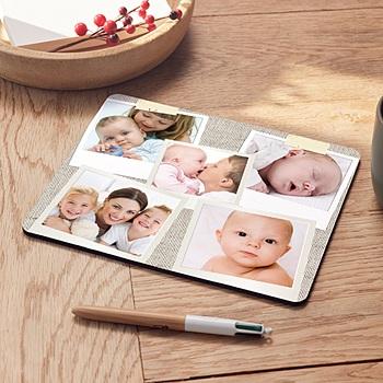Foto-Mousepad - Babykarte Polaroid - 1