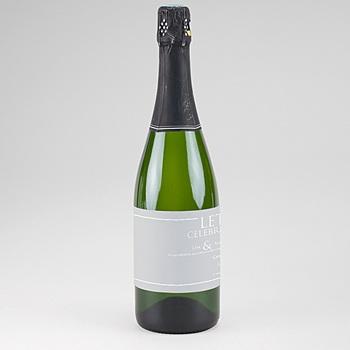 Flaschenetiketten Hochzeit - Sleekly Simple - 0