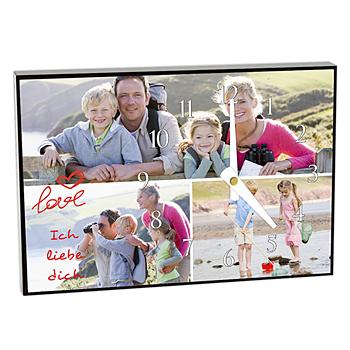 Fotouhr individuell gestalten - Fotokarte kreativ - 1
