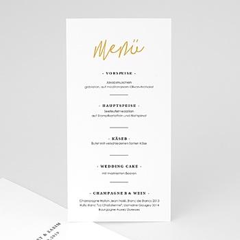 Menükarten Hochzeit - Love Letters - 0