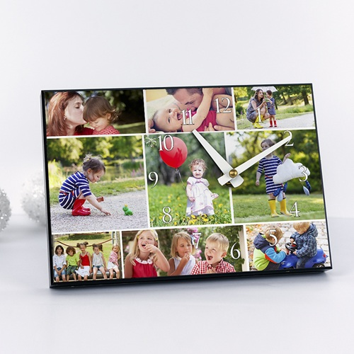 Fotouhr individuell gestalten - Erinnerungen 6621 test