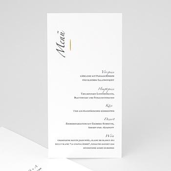 Menükarten Hochzeit - Minimal Script - 0