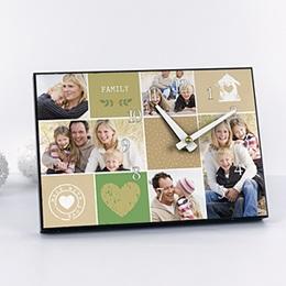 Fotouhr Vatertag Multifoto