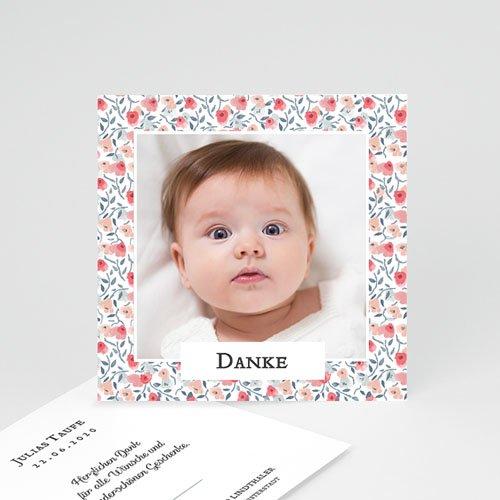 Klassische Dankeskarten zur Taufe  - Liberty Spirit 66291 thumb