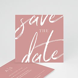 Save The Date  Pastell Minimalist