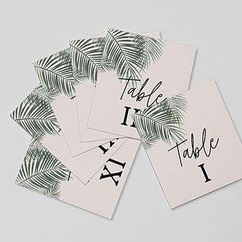 Tischnummer - Palm Springs - 0