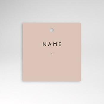 Tischkarten Hochzeit - Nude Chic - 0
