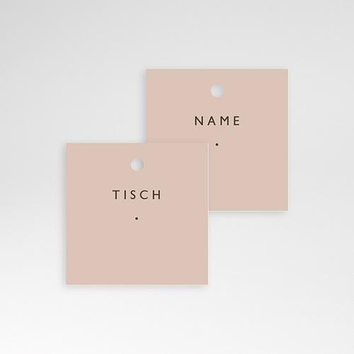 Tischkarten Hochzeit Nude Chic pas cher
