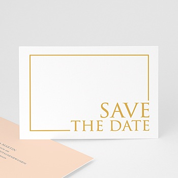 Save The Date  - Sleekly Simple - 0