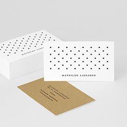 Visitenkarten Professionnel Punkte und Textur