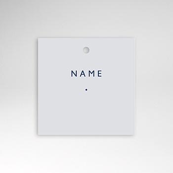 Tischkarten Hochzeit - Modern Minimalist - 0