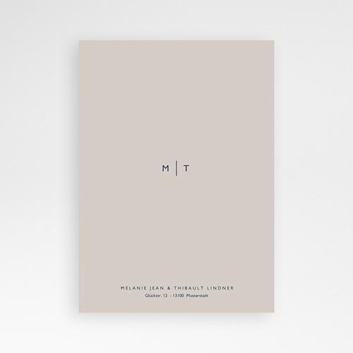 Elegante Hochzeitskarten  - Modern Minimalist 66532 thumb