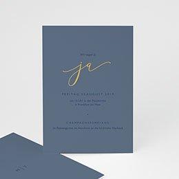 Einlegekarten Hochzeit Modern Minimalist