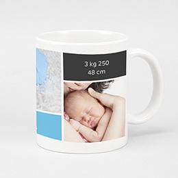 Fototassen Geburt Drei Babyfotos